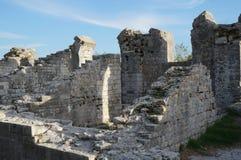 Ruins of ancient roman town Salona near Split Stock Photo