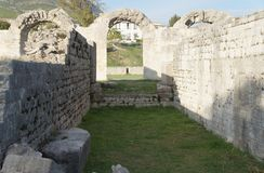 Ruins of ancient roman town Salona near Split Royalty Free Stock Images