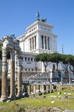 Ruins of Ancient Rome Architecture, Rome Royalty Free Stock Photography