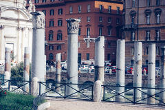 The ruins of ancient Rome Royalty Free Stock Images