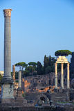 He ruins of ancient Rome 5 Stock Images