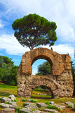 The ruins of ancient Rome, Italy Stock Photo