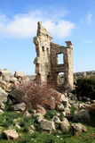 Ruins of the ancient Saint Simeon Basilica, Syria Stock Images