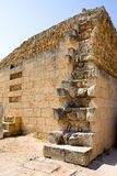 Ruins of ancient Salamis city. Famagusta district. Cyprus Royalty Free Stock Images
