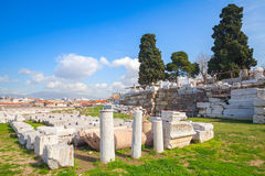 Ruins of Ancient Smyrna. Izmir, Turkey Stock Photography