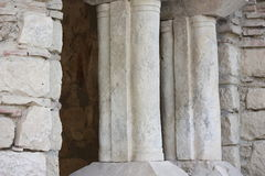 Ruins. Ancient stone historic structure in Turkey Stock Images