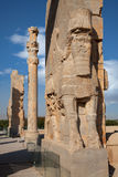 Ruins of Ancient Takhte Jamshid City the Capital of Achaemenid Empire Stock Images