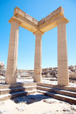 Ruins of ancient temple Stock Photography