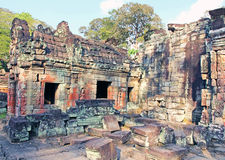 Ruins of ancient Temple Royalty Free Stock Photo