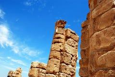 The ruins of an ancient temple. Masada. Israel Royalty Free Stock Photos