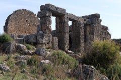 Ruins in Silyon Royalty Free Stock Photos