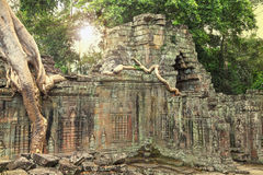 Ruins of ancient temple Royalty Free Stock Photography