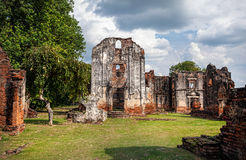 Ruins in Ancient Thailand Royalty Free Stock Image