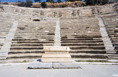 The ruins of the ancient theater Stock Photo