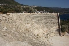 Ruins of the Ancient Theatre Royalty Free Stock Image