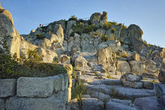 Ruins of The ancient Thracian city of Perperikon, Bulgaria Stock Images