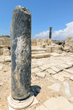 Ruins of ancient town on Cyprus Stock Photography