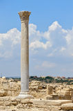Ruins of ancient town on Cyprus Stock Images