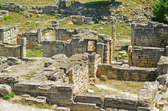 Ruins of ancient town Royalty Free Stock Images