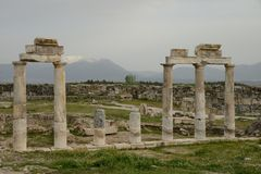 Ruins of ancient town Stock Photography