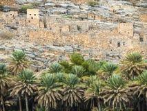 Ruins. Ancient village ruins, Oman, Arabic Peninsula Stock Photos