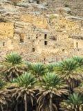 Ruins. Ancient village ruins, Oman, Arabic Peninsula Royalty Free Stock Photo