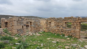 Ruins. Anciet ruins of a Minoan civilization Stock Photography