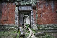 Ruins at angkor in cambodia Royalty Free Stock Images