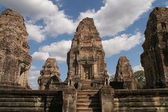 Ruins of Angkor, Cambodia Stock Photos