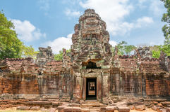 Ruins in Angkor. History Ruins in Angkor Complex Stock Images
