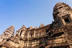 Ruins of Angkor Wat, Cambodia Royalty Free Stock Photos