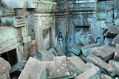 Ruins angkor wat cambodia Royalty Free Stock Photography