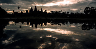 Ruins. Of Angkor Wat, Cambodia Stock Photography