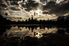 Ruins. Of Angkor Wat, Cambodia Royalty Free Stock Image