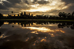 Ruins. Of Angkor Wat, Cambodia Royalty Free Stock Photo