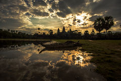 Ruins. Of Angkor Wat, Cambodia Royalty Free Stock Photos