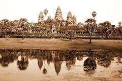 Ruins of Angkor Wat, Cambodia Stock Images