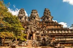 Ruins in Angkor Wat Stock Image