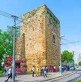 The ruins in Antalya Stock Image