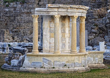 Ruins of the antic Side Royalty Free Stock Photography