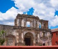 Ruins in Antigua Guatemala Stock Photography