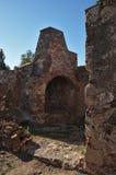 Ruins of an antique furnace Stock Photos