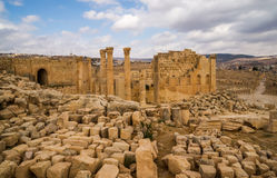 Ruins of antique Gerasa Royalty Free Stock Images