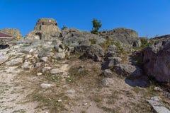 Ruins of Antique Thracian sanctuary Tatul, Bulgaria. Ruins of Antique Thracian sanctuary Tatul, Kardzhali Region, Bulgaria Stock Photo