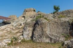 Ruins of Antique Thracian sanctuary Tatul, Bulgaria. Ruins of Antique Thracian sanctuary Tatul, Kardzhali Region, Bulgaria Royalty Free Stock Photography