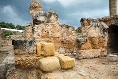 Ruins of Antonine Baths Royalty Free Stock Image