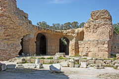 Ruins of Antonine Baths Royalty Free Stock Photos