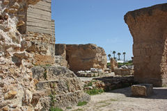Ruins of Antonine Baths Stock Photography