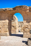 Ruins of Antonine Baths at Carthage, Tunisia Royalty Free Stock Photos