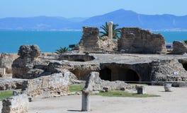Ruins of Antonine Baths Royalty Free Stock Photo